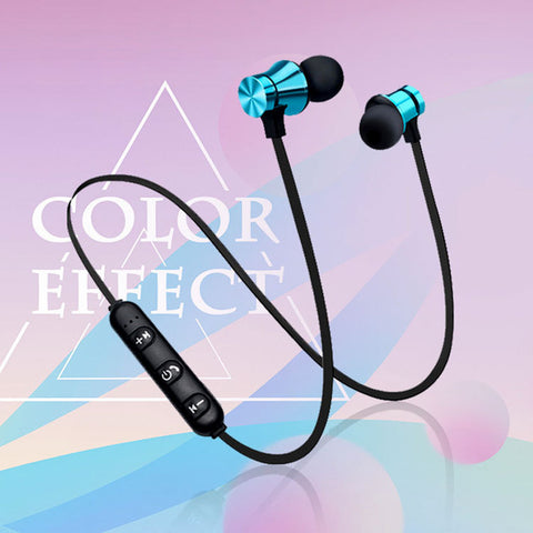 Sports Wireless Magnetic XT11 Bluetooth Earphones - ELARIC Collection