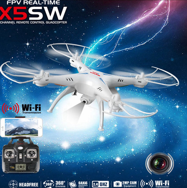 Syma X5SW-1 Explorers 2 Wifi FPV 2.4G RC Quadcopter 2.0MP Camera RTF - ELARIC Collection