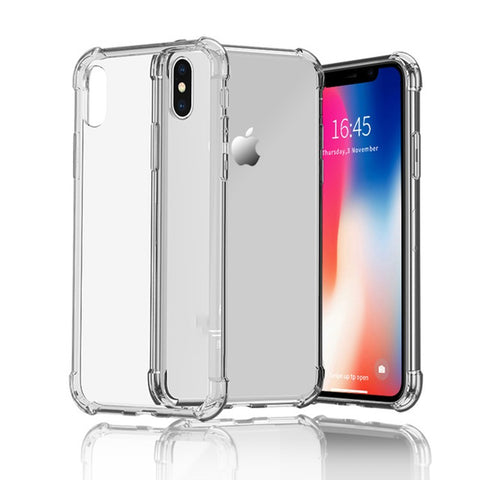 Shockproof cell phone back cover case for iPhone XS Plus - ELARIC Collection
