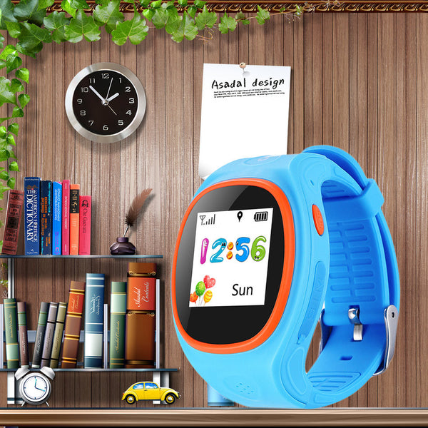 ZAPAX S866 Child Watch With SOS GPS LBS WIFI Bluetooth Smartwatch Waterproof - ELARIC Collection