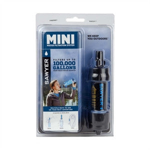 Black Sawyer Mini Water Filtration System