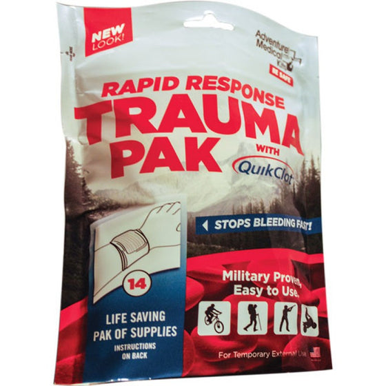 Rapid Response Trauma Pak with QuikClot