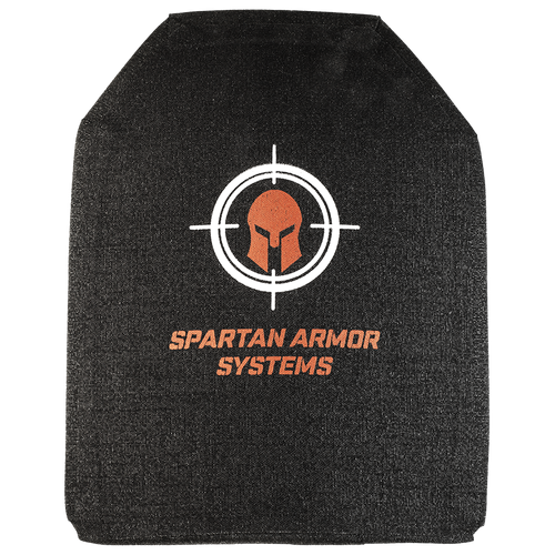 LEVEL IV SPARTAN BODY ARMOR - SHOOTERS CUT-MULTI CURVE - SET OF TWO