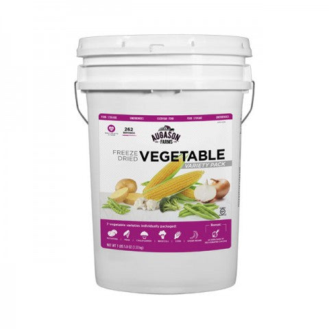 Freeze Dried Vegetable Variety Pack