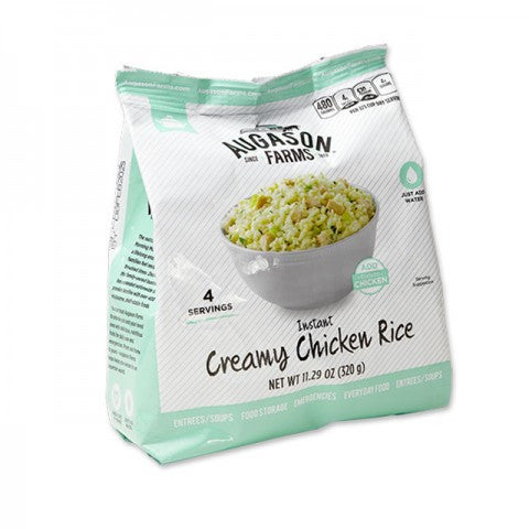 Instant Creamy Chicken Rice