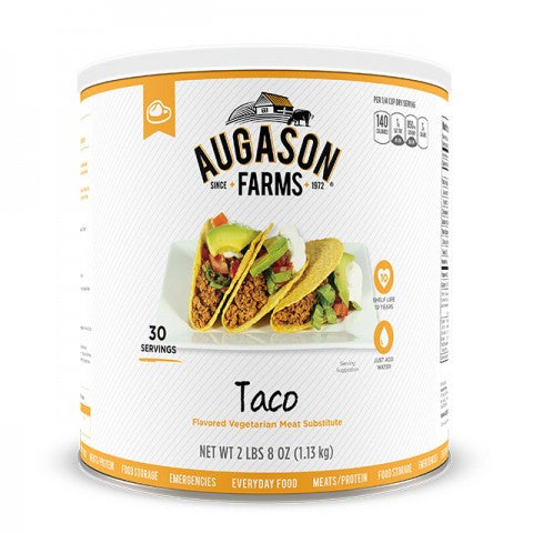 Taco Flavored Vegetarian Meat Substitute