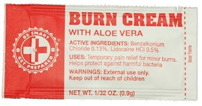 Burn Cream Packets