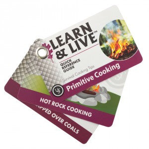 Learn & Live Primitive Cooking Cards