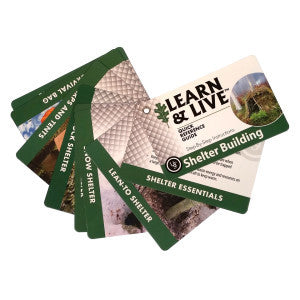 Learn & Live Shelter Building Cards