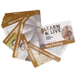 Learn & Live Way Finding Cards