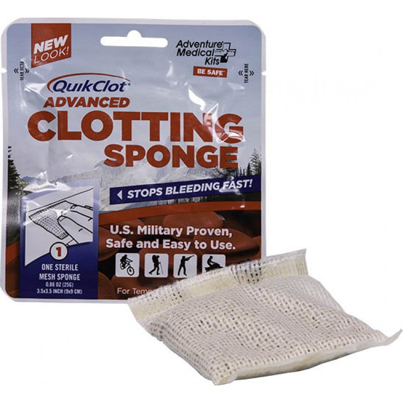 QuikClot Advanced Clotting Sponge 25g.