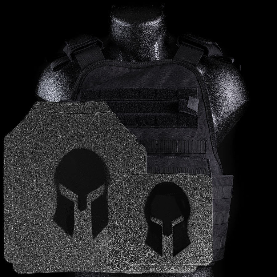 SPARTAN ARMOR(Full Coat)/CONDOR MOPC PLATE CARRIER AND AR550 LEVEL III+ BODY ARMOR PLATFORM WITH TRAUMA PADS