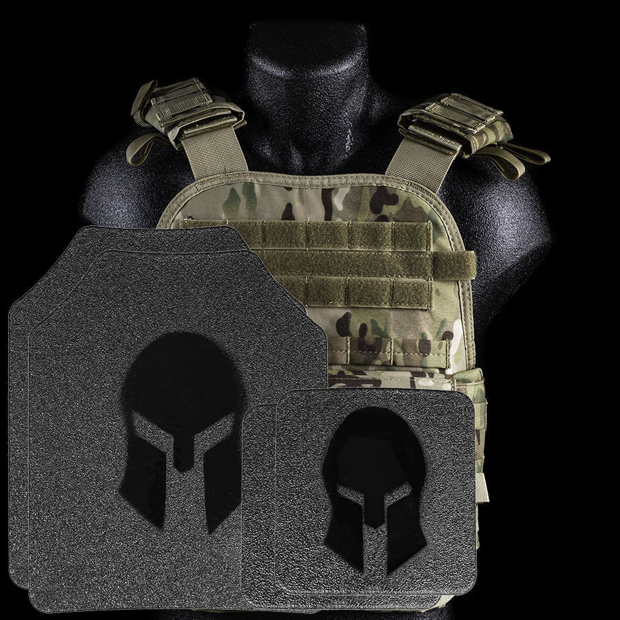 SPARTAN ARMOR / CONDOR MOPC PLATE CARRIER AND AR550 LEVEL III+ BODY ARMOR PLATFORM
