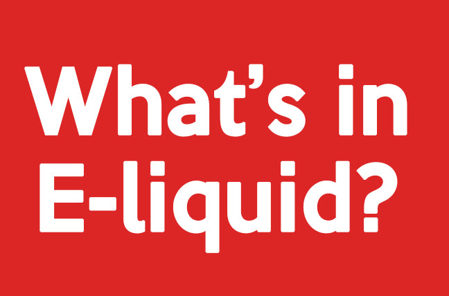 Whats in e-liquid?