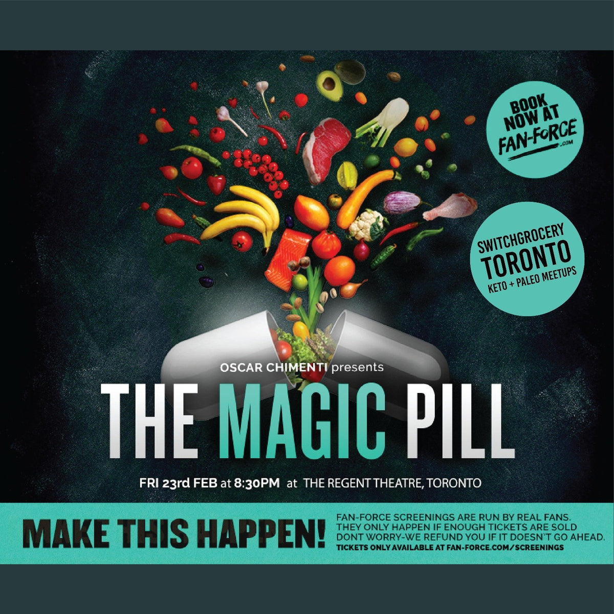 Meetup: The Magic Pill movie screening - Friday, February 23rd, 2018