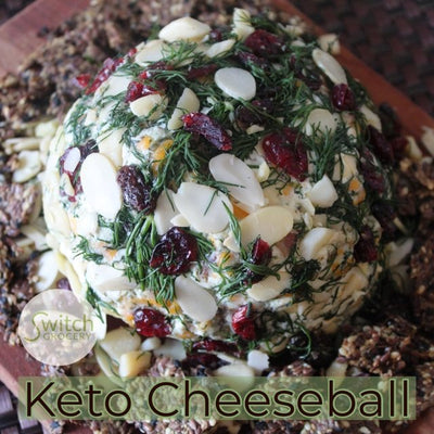 No Bake Low Carb Cheeseball