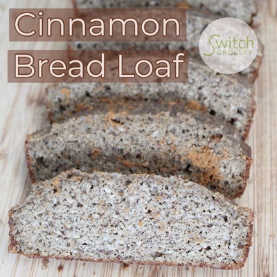 Low Carb Cinnamon Bread Loaf