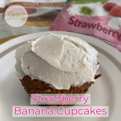 Sugar Free Strawberry Cupcakes