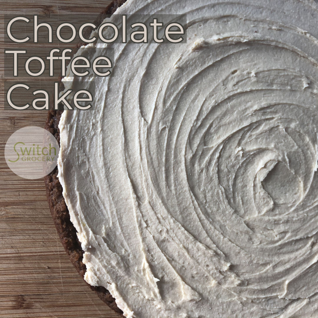 Low Carb Chocolate Toffee Cake