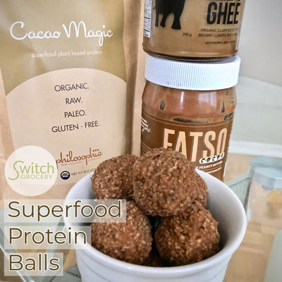 Easy 5 Minute Superfood Protein Balls