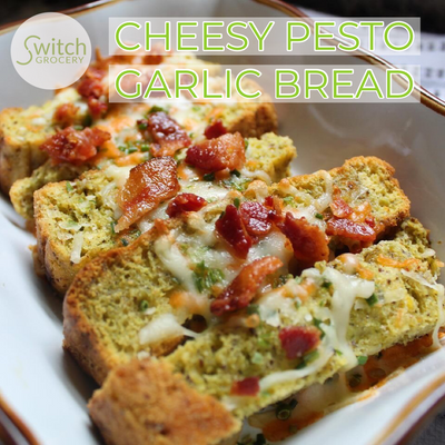 Keto Friendly Low Carb Garlic Bread