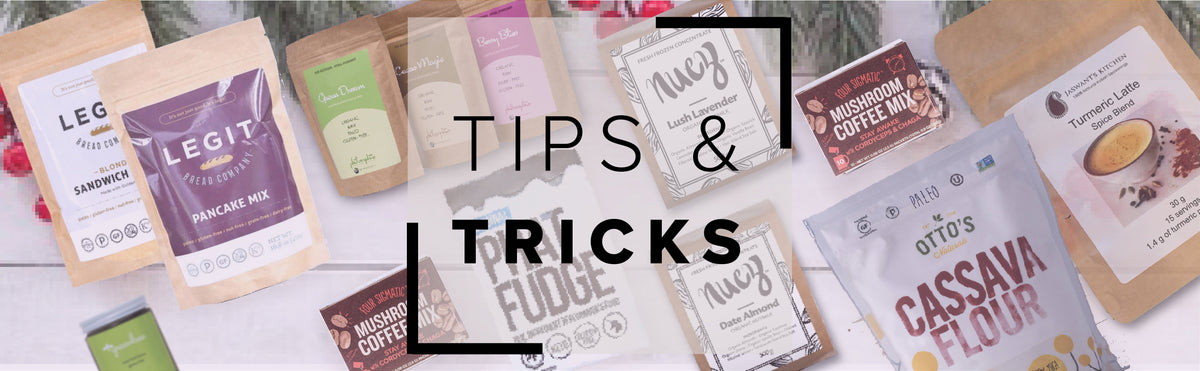 SwitchGrocery tips and tricks for all of the foods!