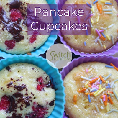 Easy Low Carb Pancake Cupcakes