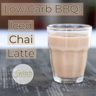 Low Carb BBQ: Iced Chai Latte