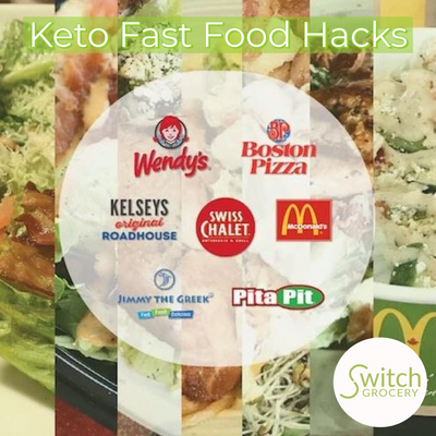 Low Carb, Keto Friendly Fast Food Hacks