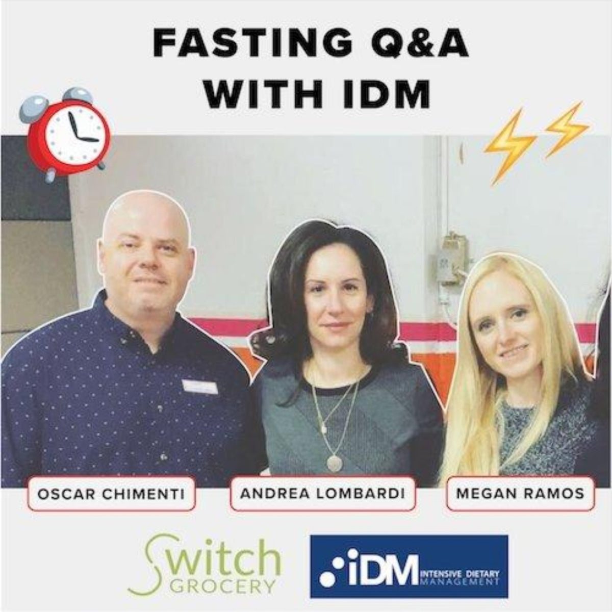Fasting Q&A and takeaways with the IDM team (VIDEO!)