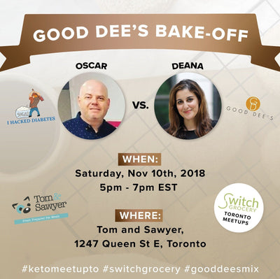 Good Dee's and IHackedDiabetes low carb and keto Bake Off