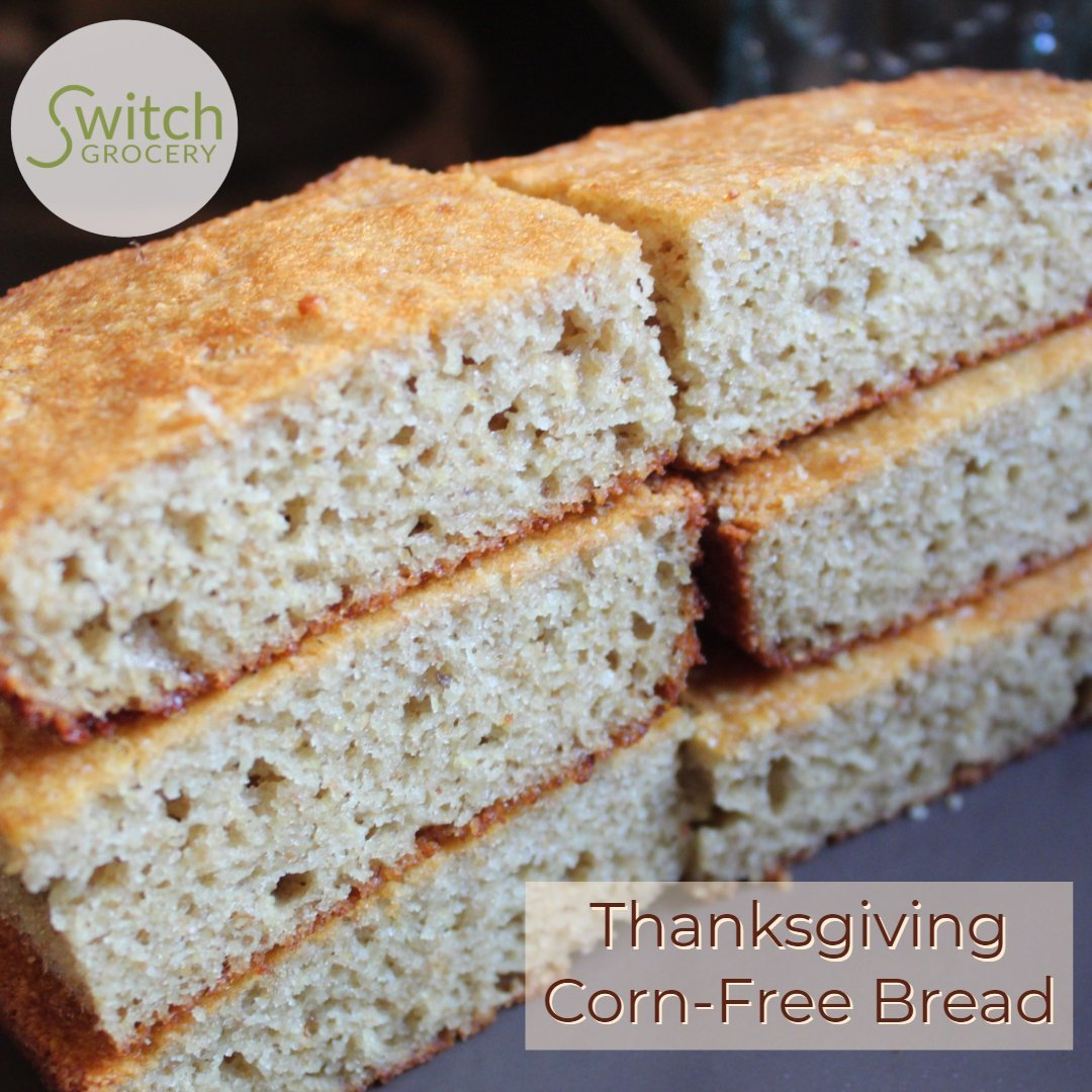 Low Carb Corn Bread for Thanksgiving