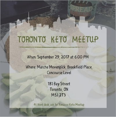 Toronto Keto Meetup - September 29, 2017