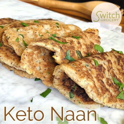 Keto Bake In A Minute Grain Free Naan