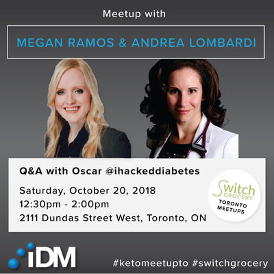 Meetup: Fasting with Megan Ramos & Andrea Lombardi, IDM