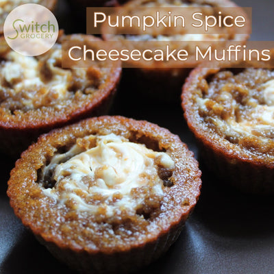 Low Carb Pumpkin Spice Cheesecake Muffins