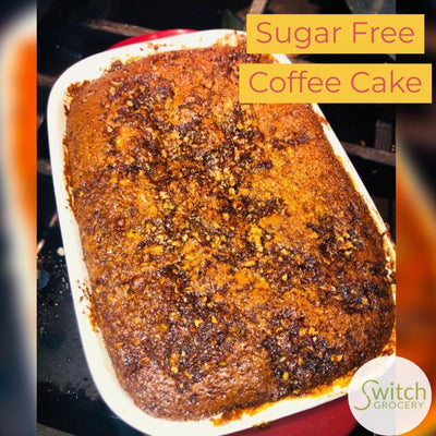 Sugar Free Low Carb Coffee Cake