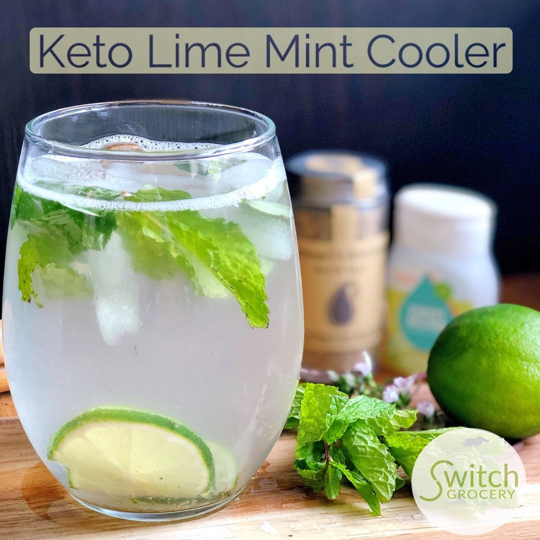 Sugar Free Mint Lime Cooler