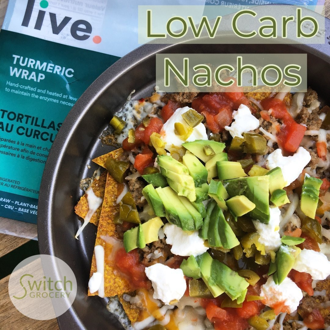 Keto, Low Carb Nachos