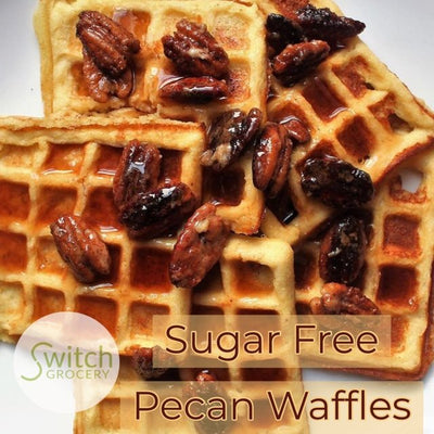 Sugar Free, Low Carb Waffles