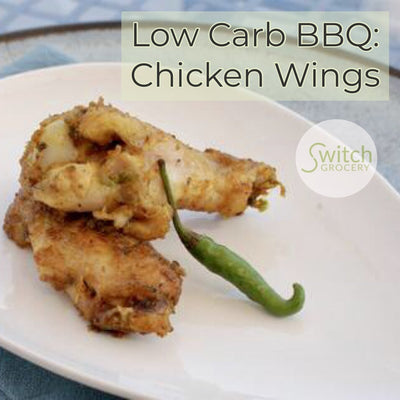 Low Carb BBQ: Chicken Wings