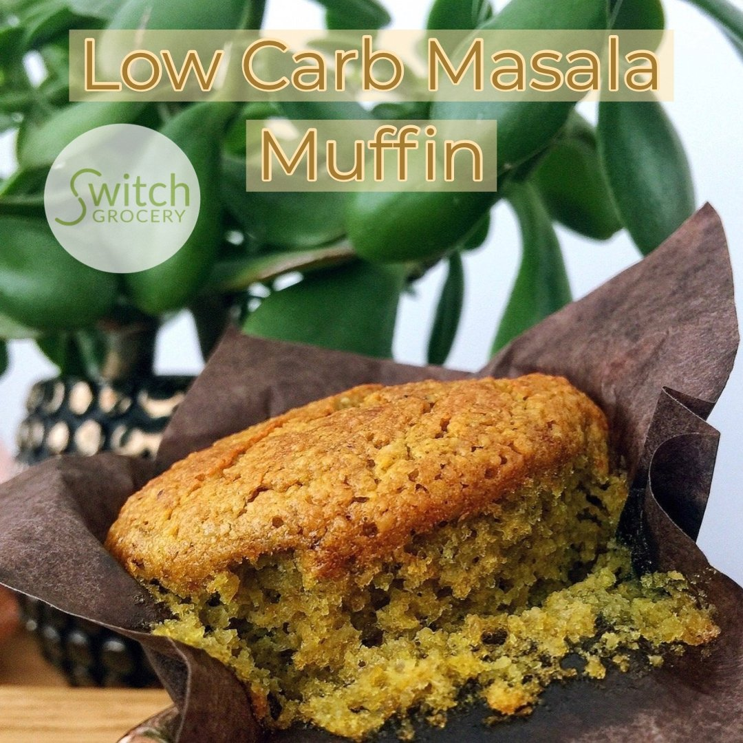 Low Carb Masala Muffin Recipe
