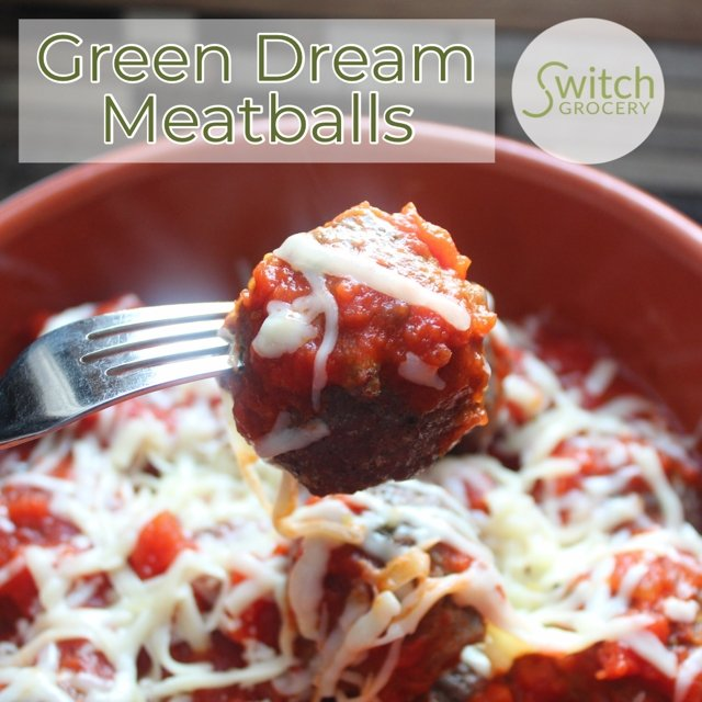 Meal Prep Recipe: Green Dream Meatball Marinara