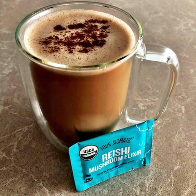 Four Sigmatic Reishi Hazelnut Dream Drink