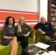 Picture - Andrea Lombardi, Megan Ramos, Oscar Chimenti at SwitchGrocery Keto Meetup