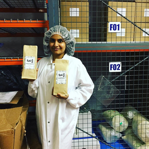 SwitchGrocery Canada owner Neha packing orders