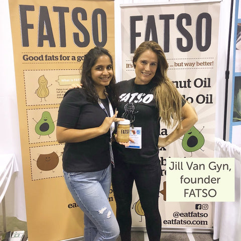 Fatso founder Jill Van Gyn and SwitchGrocery Canada founder Neha