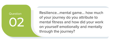 SwitchGrocery Meetup Q2 Resilience...mental game… how much of your journey do you attribute to mental fitness and how did your work on yourself emotionally and mentally through the journey?