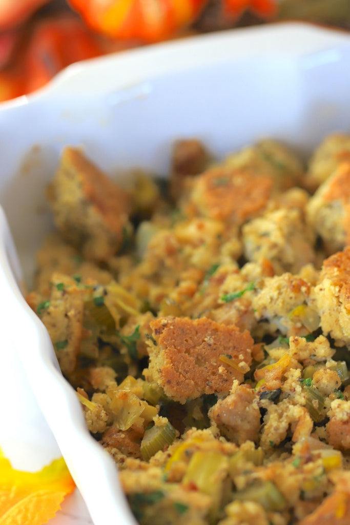 Casserole Grain Free Low Carb Stuffing
