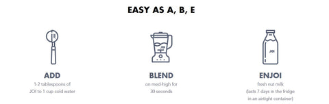 Easy as A B E AddJOI on SwitchGrocery Canada